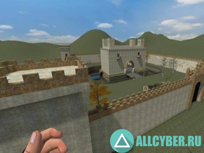 Карта ba_jail_modern_castle Для Cs:S