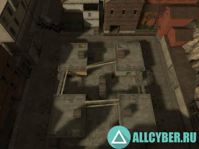 Карта fy_down_town для CS:S