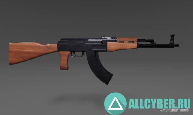 С каким оружием лучше играть в Pubg АКМ
