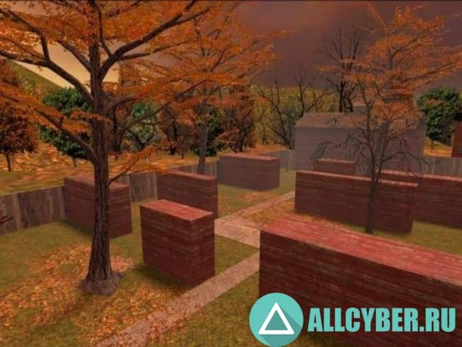 Карта aim_autumn для CS:S