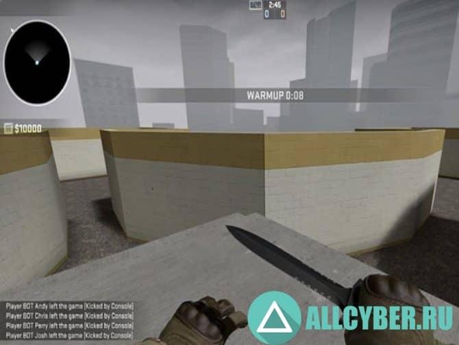 Карта aim_junction_b для CS:GO
