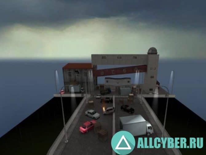 Карта awp_bridge для CS:S