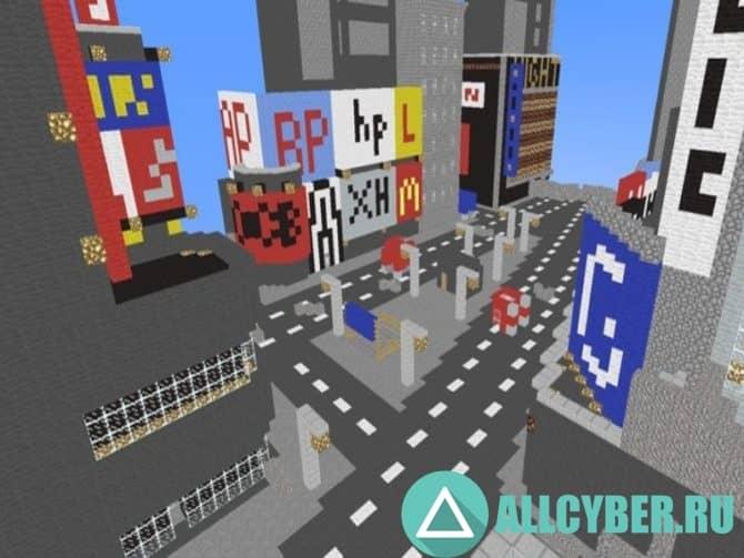 Карта cs_minecity_beta для CS:S