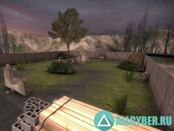 Карта fy_urban_park_YKEL_1337 Для Cs:GO