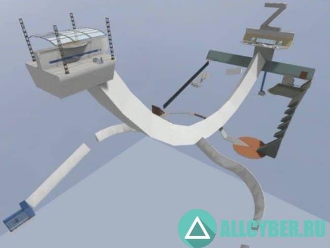Карта surf_machine4_sky_v3 для CS:S