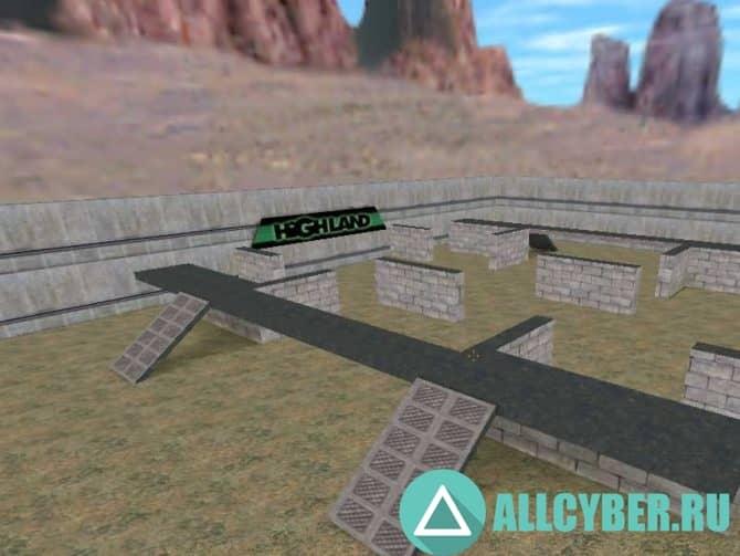 Карта aim_usp_alamo_v2 для CS:S