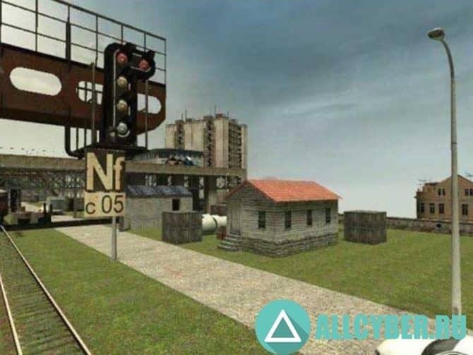 Карта cs_traincrossing для CS:S