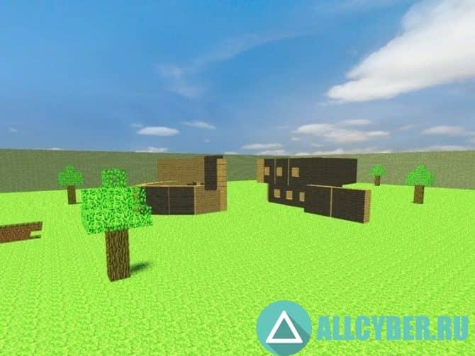 Карта mg_minecraft_basebuild для CS:S