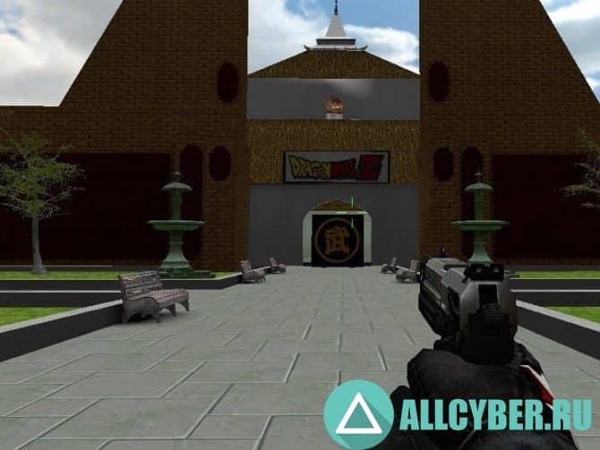 Карта zm_martial_arts_tournament_v1 для CS:S