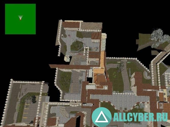 Карта zm_piranesi_v1 для CS:S