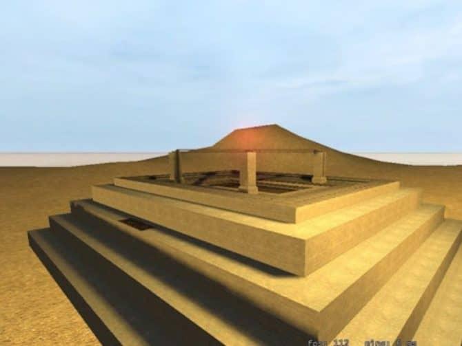 Карта 35hp_pyramid_dusty_v1 для CS:S