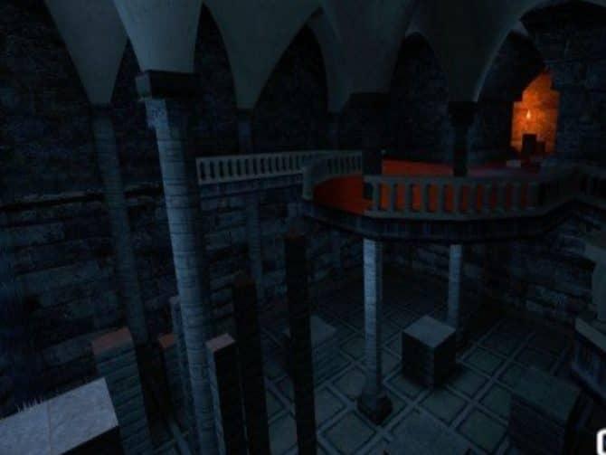 Карта bhop_underground_crypt для CS:S
