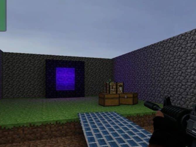 Карта mg_minecraft_arena для CS:S