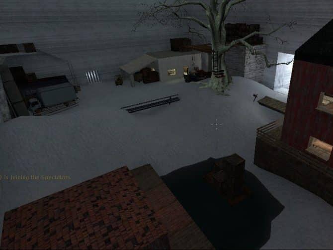 Карта zm_snowpoint для CS:S
