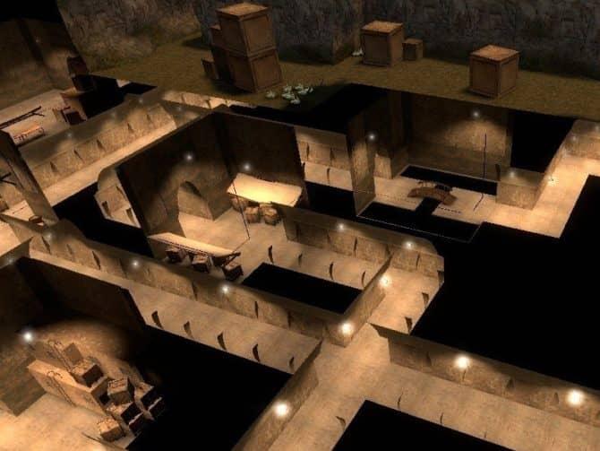 Карта zm_undergrounds_bdf для CS:S