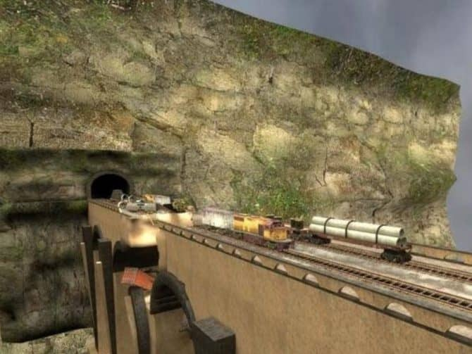 Карта aim_blownbridge для CS:S