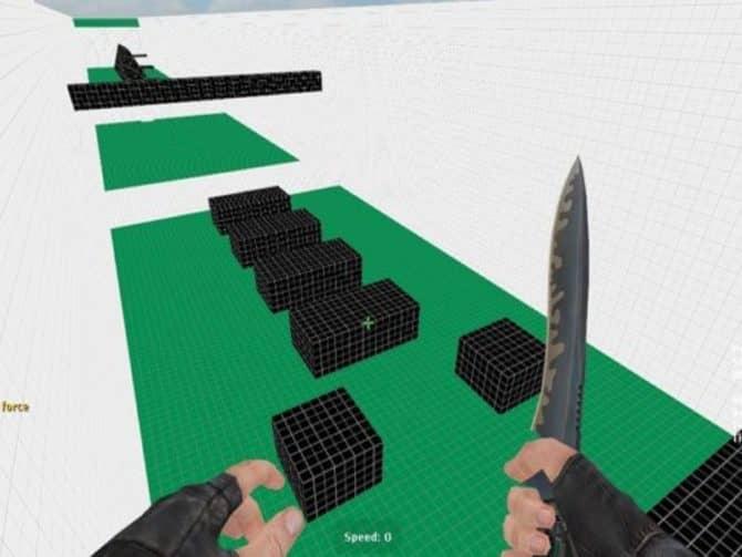 Карта bhop_foob для CS:S