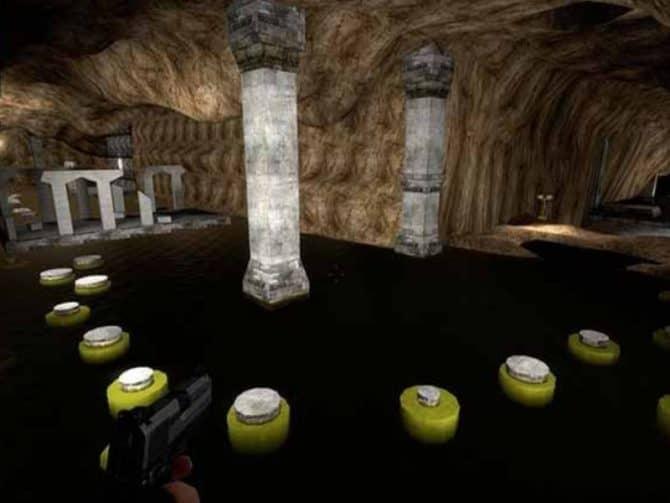 Карта bhop_trikz_caverns_v3 для CS:S