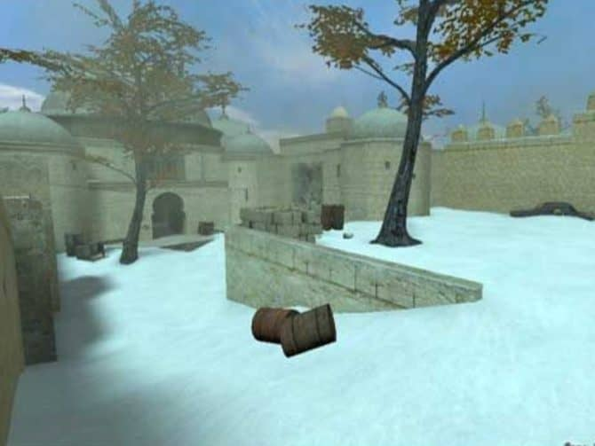 Карта de_dust2_ice для CS:S