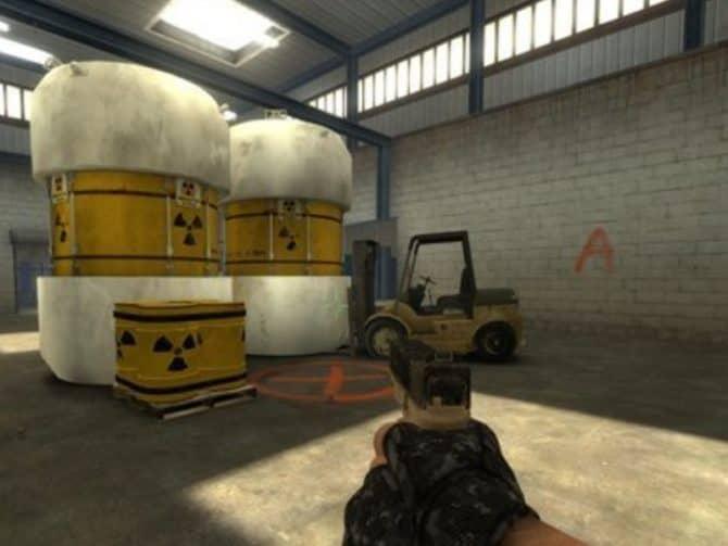 Карта de_nuke для CS:S
