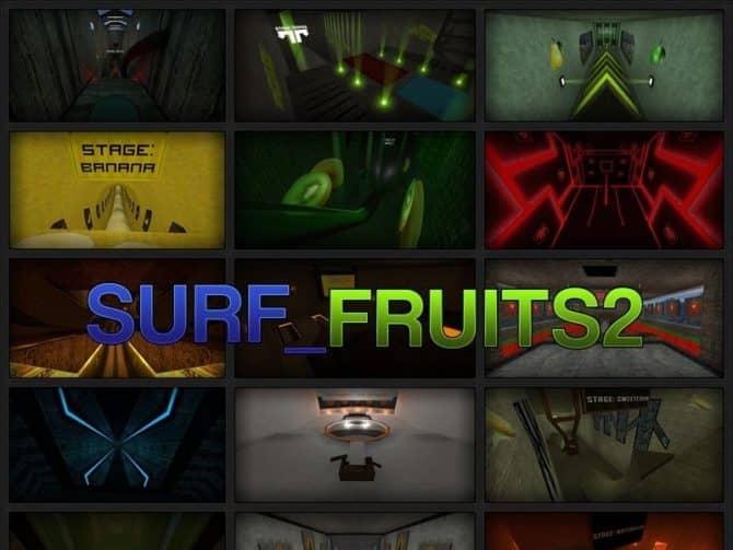 Карта surf_fruits2l для CS:S