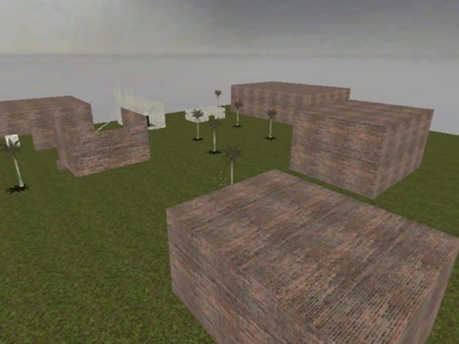 Карта zm_horror_greenlong для CS:S