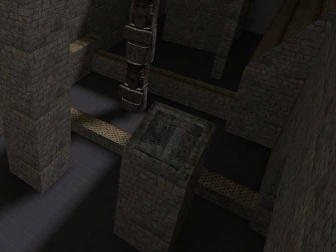 Карта bhop_gap для CS:S