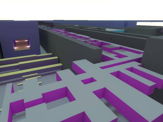 Карта bhop_plunge для CS:S