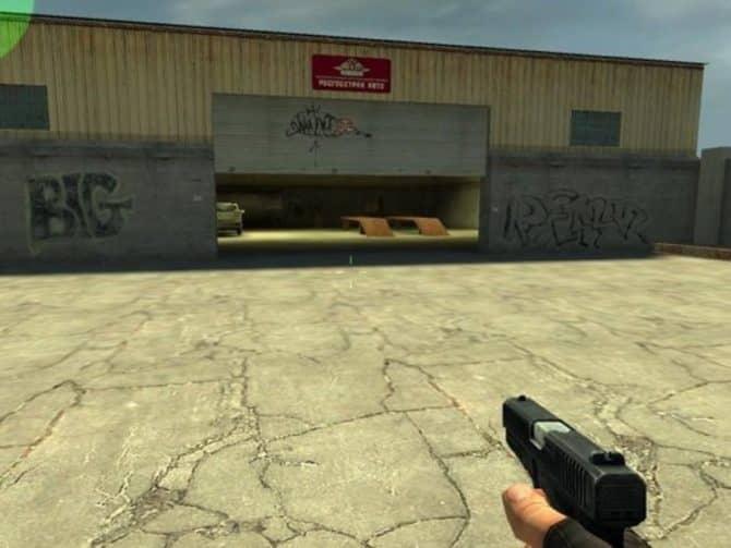 Карта fy_garages для CS:S