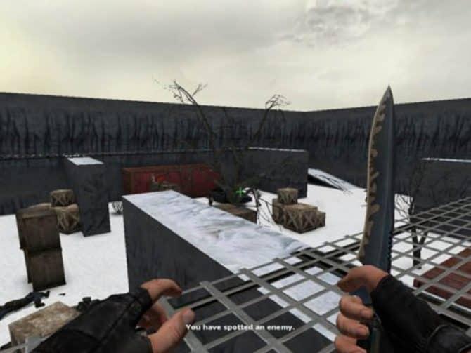 Карта fy_snowyard для CS:S