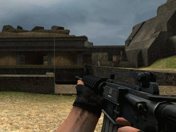 Модель оружия M4A1 Forward assist для CS:S