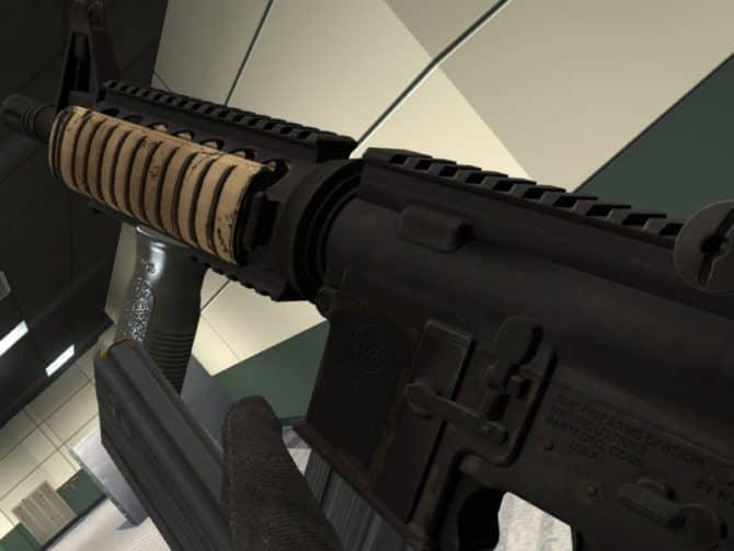 Модель оружия MK18 - Re-animation для CS:S