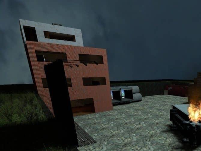 Карта zm_rainyday для CS:S