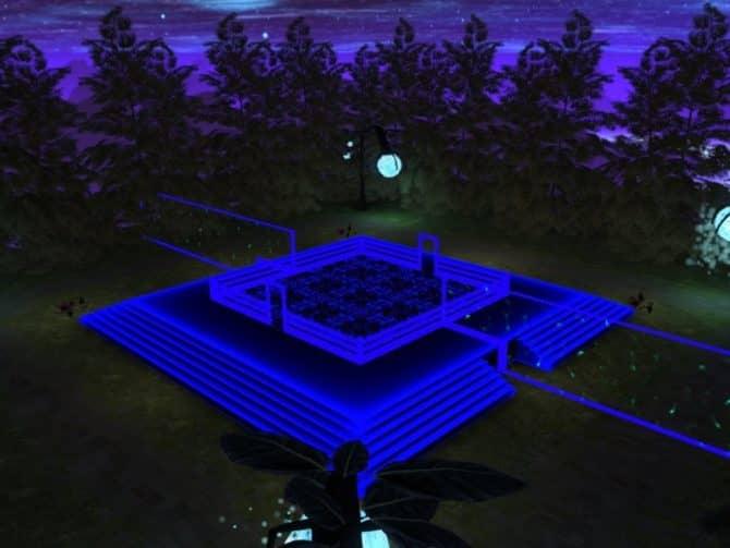 Карта 35hp_neon_go для CS:GO