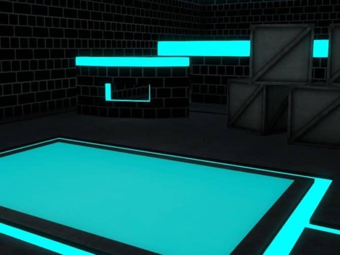 Карта ar_neon для CS:GO