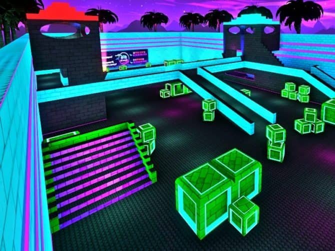 Карта awp_lego_neon для CS:GO