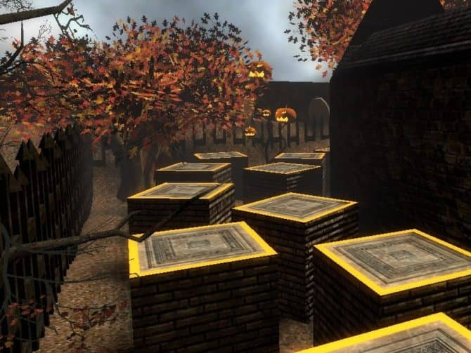 Карта bhop_bram_halloween для CS:S