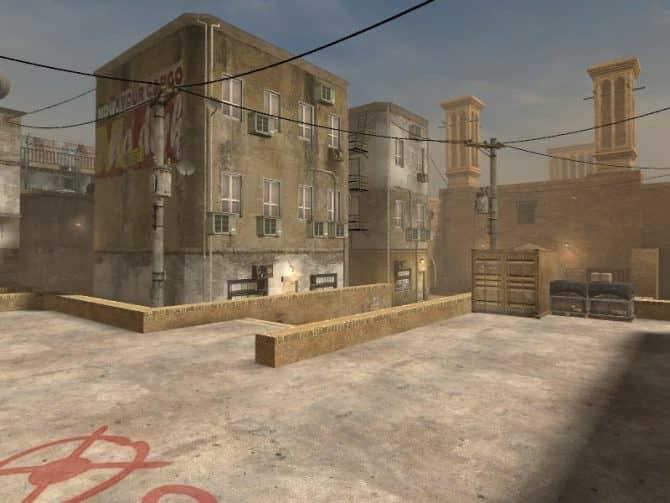 Карта de_dust_cso2 для CS:S