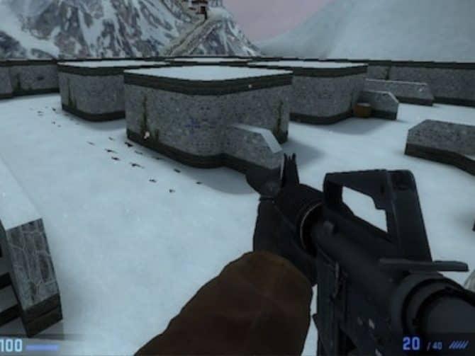 Карта fy_snow для CS:GO