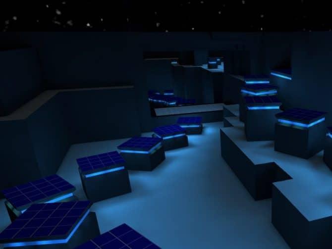 Карта bhop_blueglow_csgo для CS:GO