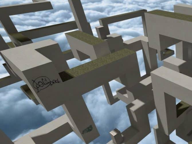 Карта bhop_intra_csgo для CS:GO