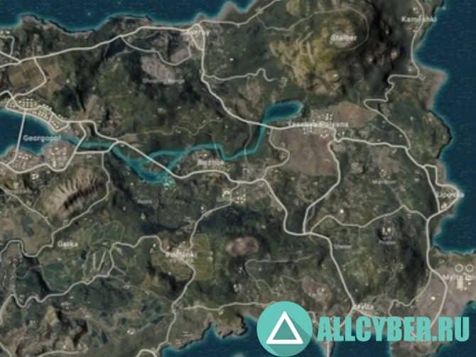 Новая карта пубг