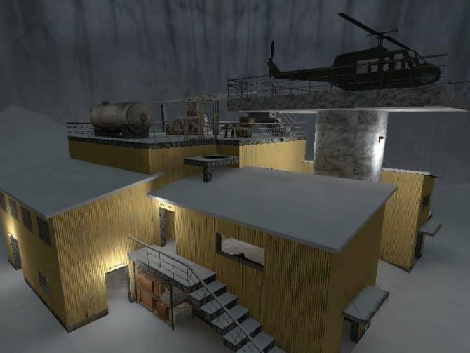 Карта ze_winter_warehouse для CS:S