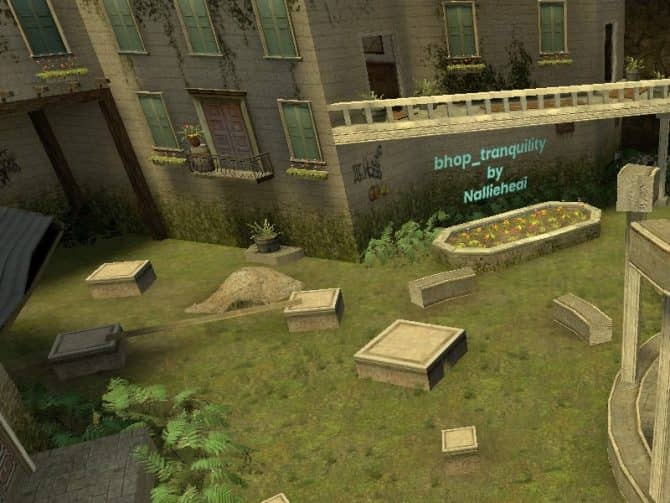 Карта bhop_tranquility для CS:S