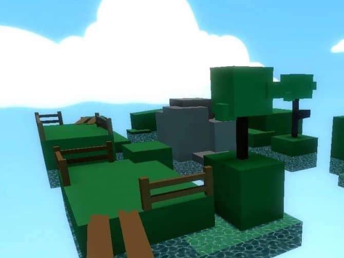 Карта bhop_voxel для CS:S