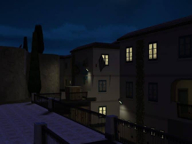 Карта cs_thera_night_b2 для CS:1.6