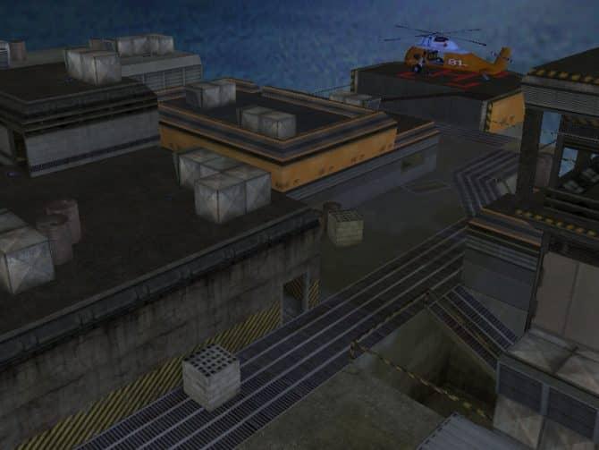 Карта fy_oilrig для CS:1.6