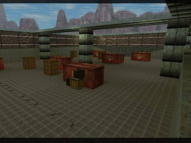 Карта aim_howlong для CS:1.6