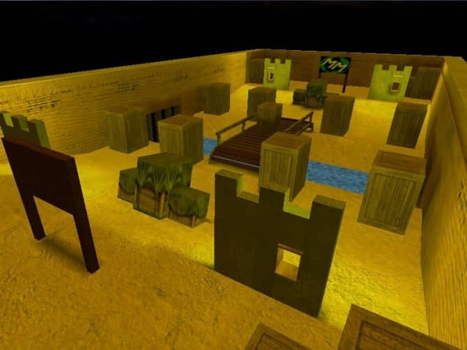 Карта ar_india_night для CS:1.6
