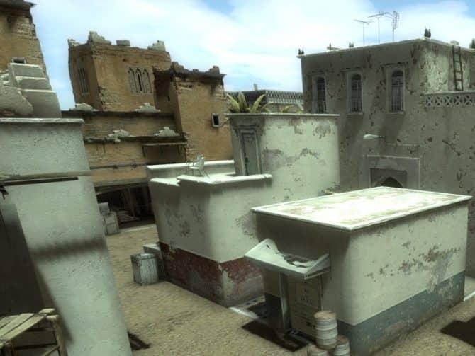 Карта dm_shipment_dust для CS:GO